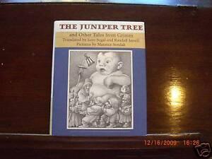 THE-JUNIPER-TREE-Maurice-Sendak-SIGNED-2003-1st-1st-thus-revised-HBDJ