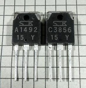 2SA1492-Y-amp-2SC3856-Y-A1492-C3856-TO-3P-1-pair-1-each-per-Lot