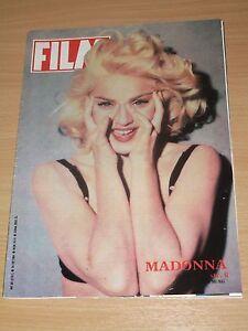 MEGA RARE !! Film magazine Madonna on cover * SUPER CONDITION to your museum - Gdynia, Polska - MEGA RARE !! Film magazine Madonna on cover * SUPER CONDITION to your museum - Gdynia, Polska