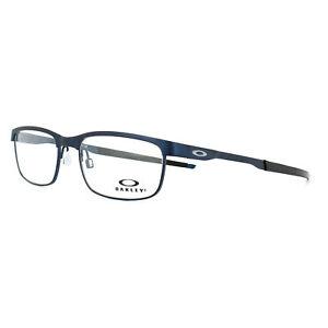244656f6df8 Oakley Glasses Frames Steel Plate OX3222-03 Powder Midnight 52mm ...