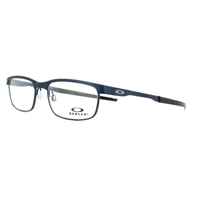 3d1426fd14f Oakley Glasses Frames Steel Plate OX3222-03 Powder Midnight 52mm Mens