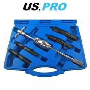 US-PRO-5pc-Blind-Inner-Bearing-Puller-set-Slide-Hammer-Internal-5148