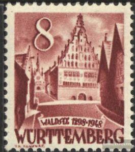 Franz-Zone-Wuerttemberg-32-gestempelt-1948-Freimarke