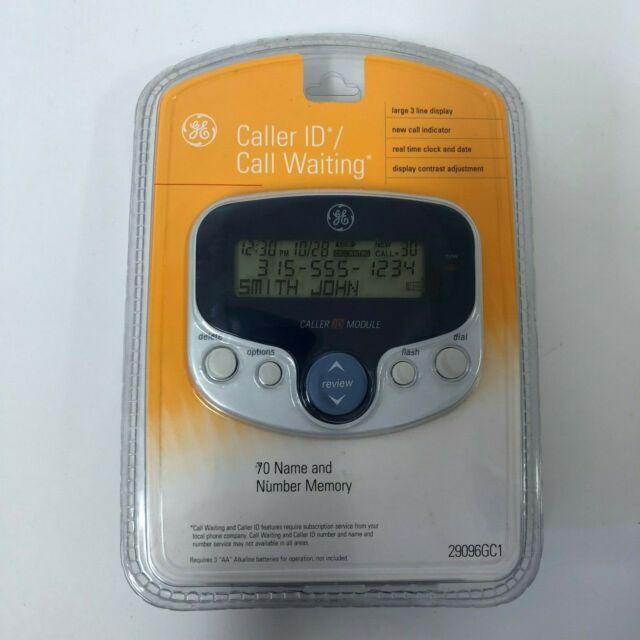 GE Caller ID Call Waiting 70 Name & Number Memory Model 29096GC1