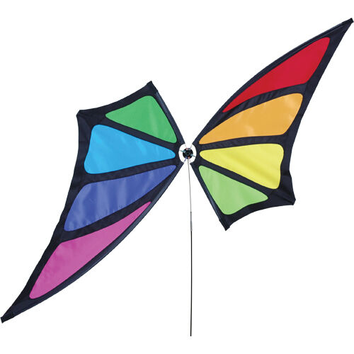 "24/"" x 44/"" ..21.....PR 22391 Rainbow Butterfly Wind Spinner"