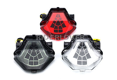 Integrated LED Tail Light Turn Signals Blinker For Yamaha FZ-07 MT-07 2014-2017