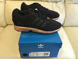 f3352048d discount adidas zx flux black and copper uk 27906 eac34