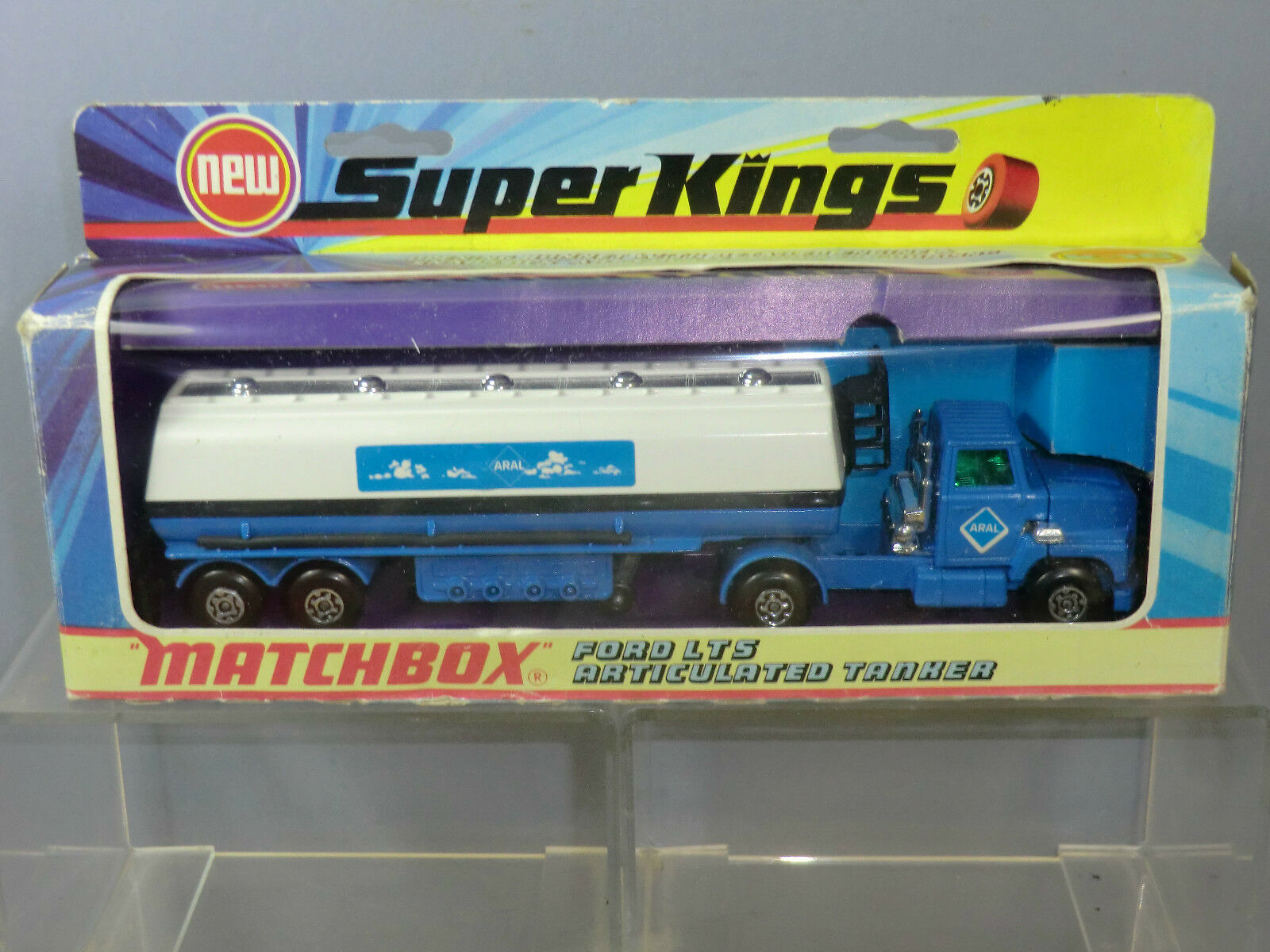 Matchbox superkings modell k-16 ford seine  aral  milch tanker im mib