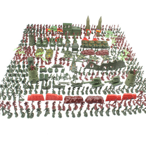 519 Pack Military Models Soldiers Army Men Figures Action Model Kids Toys