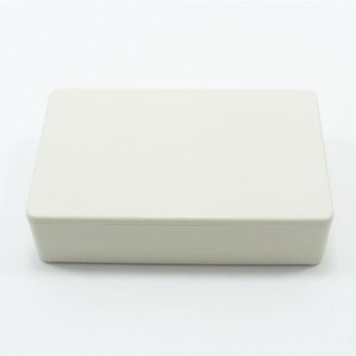 PVC Junction Box 70mm x 45mm Waterproof Plastic PVC White