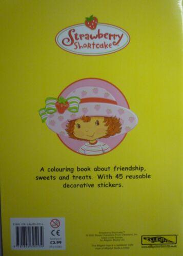 Strawberry Shortcake etiqueta engomada Tom /& Story Book 45 Reutilizable pegatinas