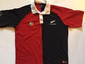 Campo de minas radioactividad más y más  Adidas Nueva Zelanda All Blacks British & Irish Lions Rugby Polo 2005 Tour  Xl   eBay