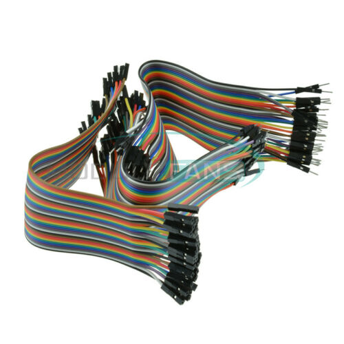 120PCS Dupont Wire Male to Male Female to Female Jumper Cable Male to Female