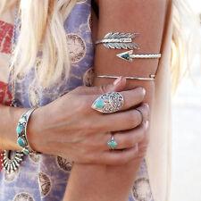Arrow Silver Arm Harness Slave Chain Upper Armband Cuff Armlet Bracelet Bohemian