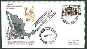 1979 Vaticano Viaggi Del Papa Messico Guadalajara - Rm1 GuéRir La Toux Et Faciliter L'Expectoration Et Soulager L'Enrouement
