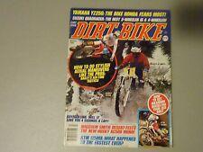 MARCH 1985 DIRT BIKE MAGAZINE,YAMAHA YZ250,SUZUKI QUAD,KTM 125MX,MALCOLM SMITH