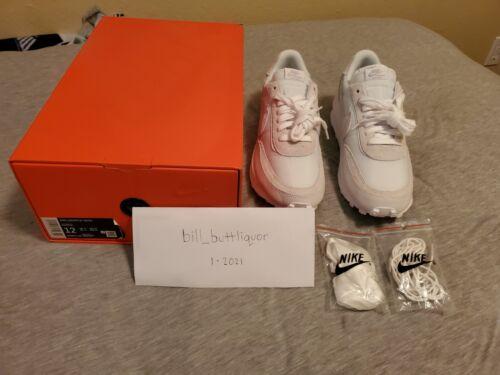 Sacai x Nike LDWaffle 'White Nylon' Men's Size 12