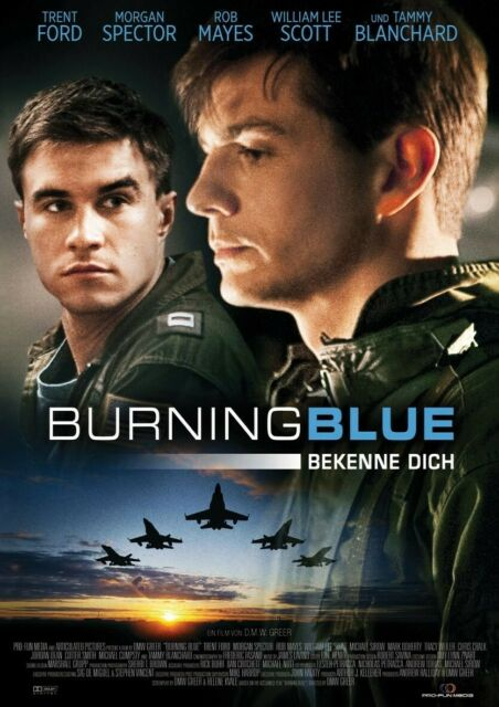 TRENT/BLANCHARD,TAMMY FORD - BURNING BLUE  DVD NEU