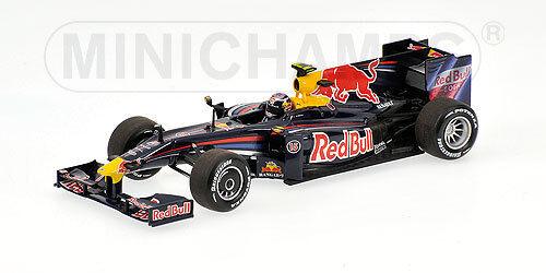 rojo Bull Renault RB5 S.Vettel  GP  2009 400090015 Minichamps 1 43