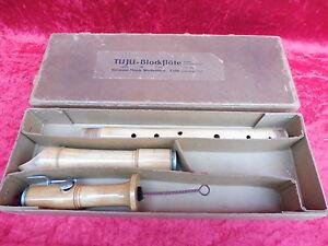 Große Blockflöte tenorblockflöte Schöne __tuju Hermann Moeck__64,5cm__ !