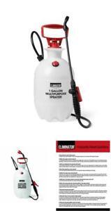 Weed Sprayer Bug Insect Pest Killer 1 Gallon Hand Pump Pressure Garden Yard Lawn