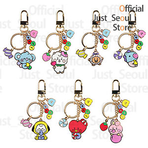 Official BTS BT21 Baby Metal Key Ring +Freebie +Free Tracking Authentic Goods