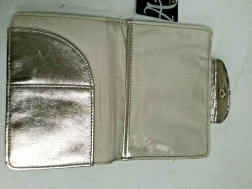 HNK0888 ACCESSORIZE GOLD WALLET BNWT RRP £7