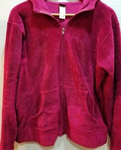 Women S Patagonia Jacket Fuzzy Full Zip Hoodie Sz L Large
