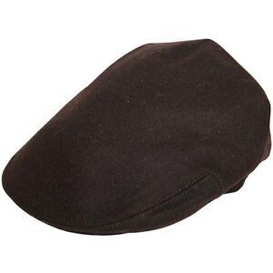 for classy man Original G/&H Black Blend Wool Flat Cap DesignInEngland