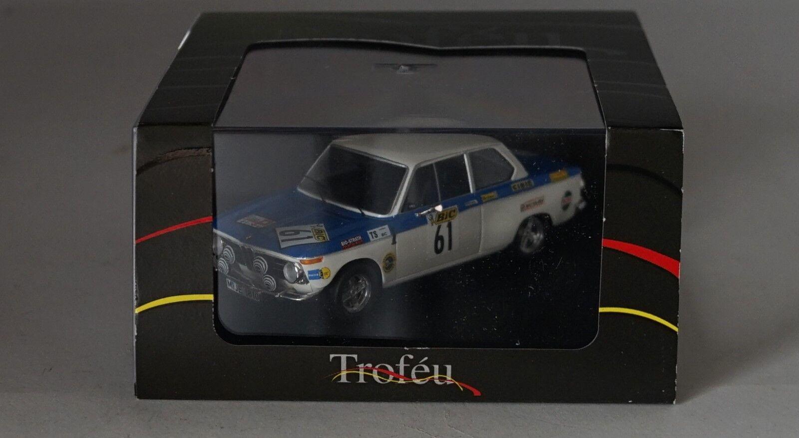 TROFEU TF1726 BMW 2002 N.61 6th (WINNER Gr.2) Gr.2) Gr.2) TOUR AUTO 1971 T.FALL-M.WOOD 1 43 efa1d6