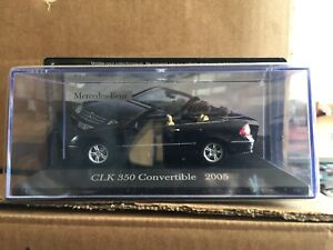 DIE-CAST-034-CLK-350-CONVERTIBLE-2005-034-MERCEDES-COLLECTION-SCALA-1-43