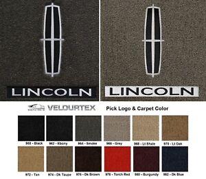 Lloyd Mats Velourtex Lincoln Town Car Double Logo 4pc Floor Mats