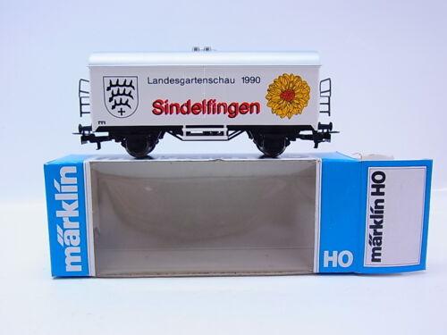 """48071 Schöner Märklin H0 Werbewagen /""""Landesgartenschau 1990 Sindelfingen/"""" in OVP"""