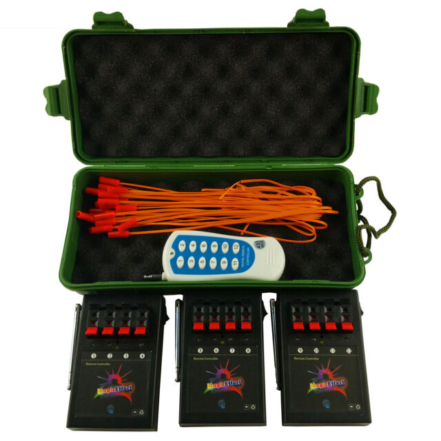 Free shipping Profession 12 Cue Wireless Fireworks Firing system Remote control