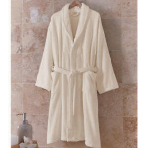 751367a1c7 Image is loading Certified-Organic-Cotton-Bathrobe-For-Women-Natural-Color-