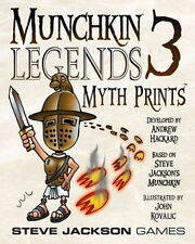 Munchkin Legends 3: Myth Prints Expansion NEW! Steve Jackson Games SJG 1505