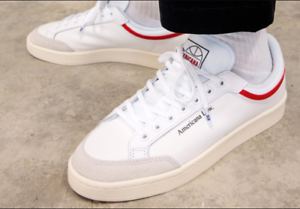 New-amp-Genuine-Adidas-Originals-Americana-Low-Trainers-White-Shoes-UK-Size-9-5