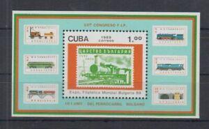 C836. Caribbean - MNH - Transport - Trains