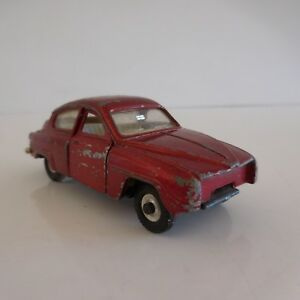 Voiture-miniature-car-SAAB-96-MECCANO-LTD-DINKY-TOYS-MADE-IN-ENGLAND