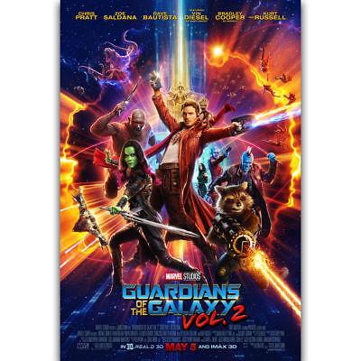 Guardians of the Galaxy Vol 2 Movie Art Silk Poster Print 12x18 24x36 inch