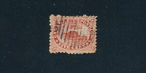 "Canada (1859) ""BEAVER"" #15; USED; VF; NO FAULTS; CV $37.50"