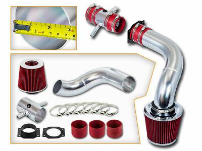 Filter BCP RED 03-08 Mazda 6 Mazda6 3.0L V6 Cold Air Intake Racing System