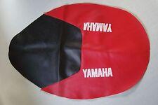 Cubierta de asiento de motocicleta-Yamaha TT600S en rojo y negro