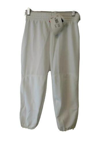 Vélo Blanc Baseball pantalon Athletic Youth Kids Traditional fit nouveaux grands Neuf avec étiquettes