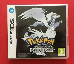 Jeu DS Pokemon version noire