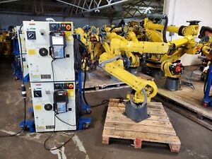 FANUC-M-20iA-Robot-System-w-R30iB-Controller-Year-2014-Low-Hours