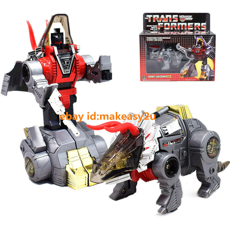 Free Shipping Transformers G1 Dinobot Flamethrower Slag Reissue Action Figure