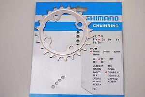 Corona SHIMANO XT 24T FC-M780 3x10Speed/CHAI<wbr/>NRING SHIMANO XT 34T FC-M780