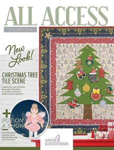 All Access VIP October 2019 Anita Goodesign Machine Embroidery Designs CD