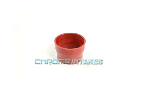 """RED 2.75/""""-3/"""" AIR INTAKE//PIPING RUBBER REDUCER COUPLER FOR HONDA//ACURA"""